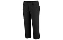 Columbia Ridge Capri femme argent noir